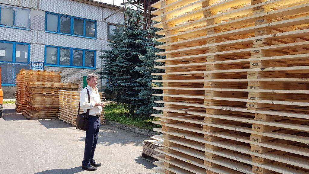 Borisov DOK visit