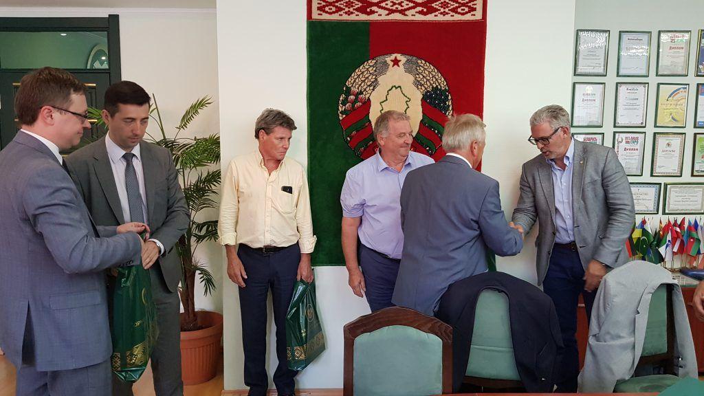 Meeting at BUCE