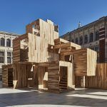 Multiply: A carbon-neutral tulipwood pavilion launches at the London Design Festival