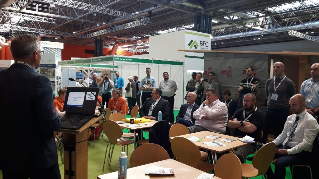 Presentation of Timber Academy at Timber Expo 2018