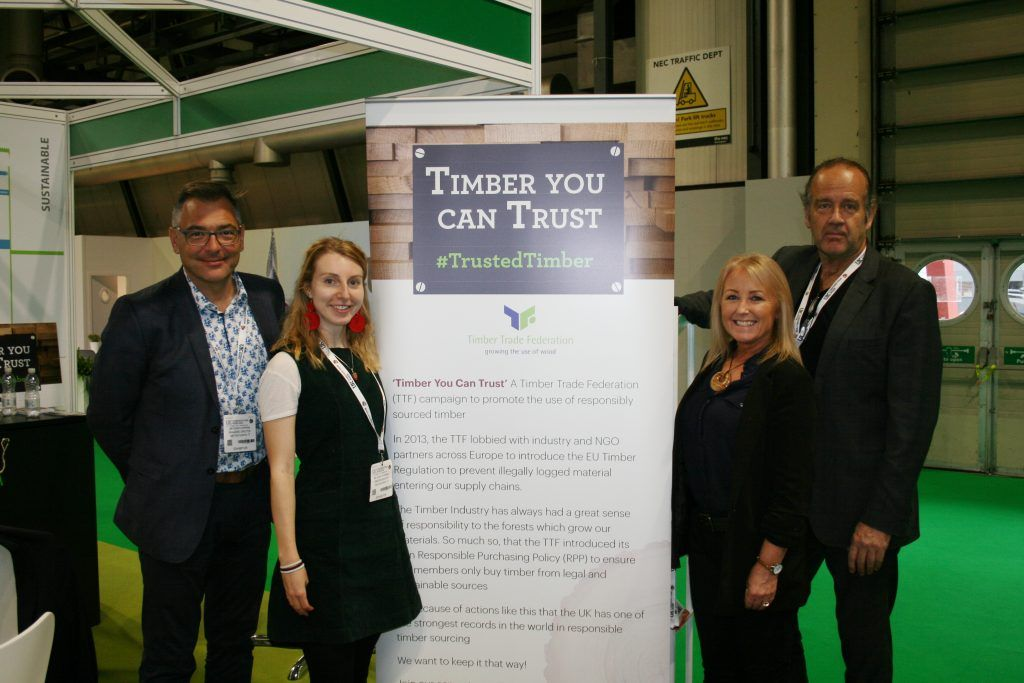 TTF Team at Timber Expo