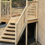 An accoya staircase designed for all seasons