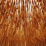 American Tulipwood pavilion showcased at the Design Museum as part of David Adjaye: Making Memory
