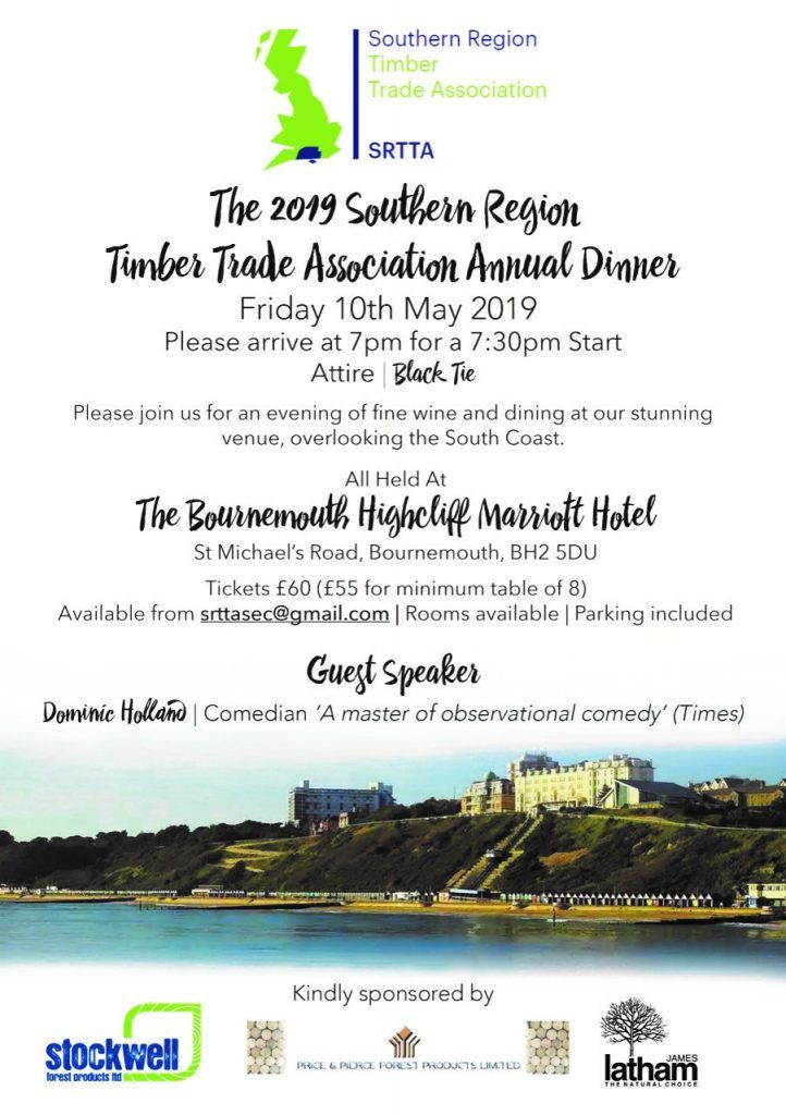 The 2019 SRTTA Annual Dinner, Bournemouth