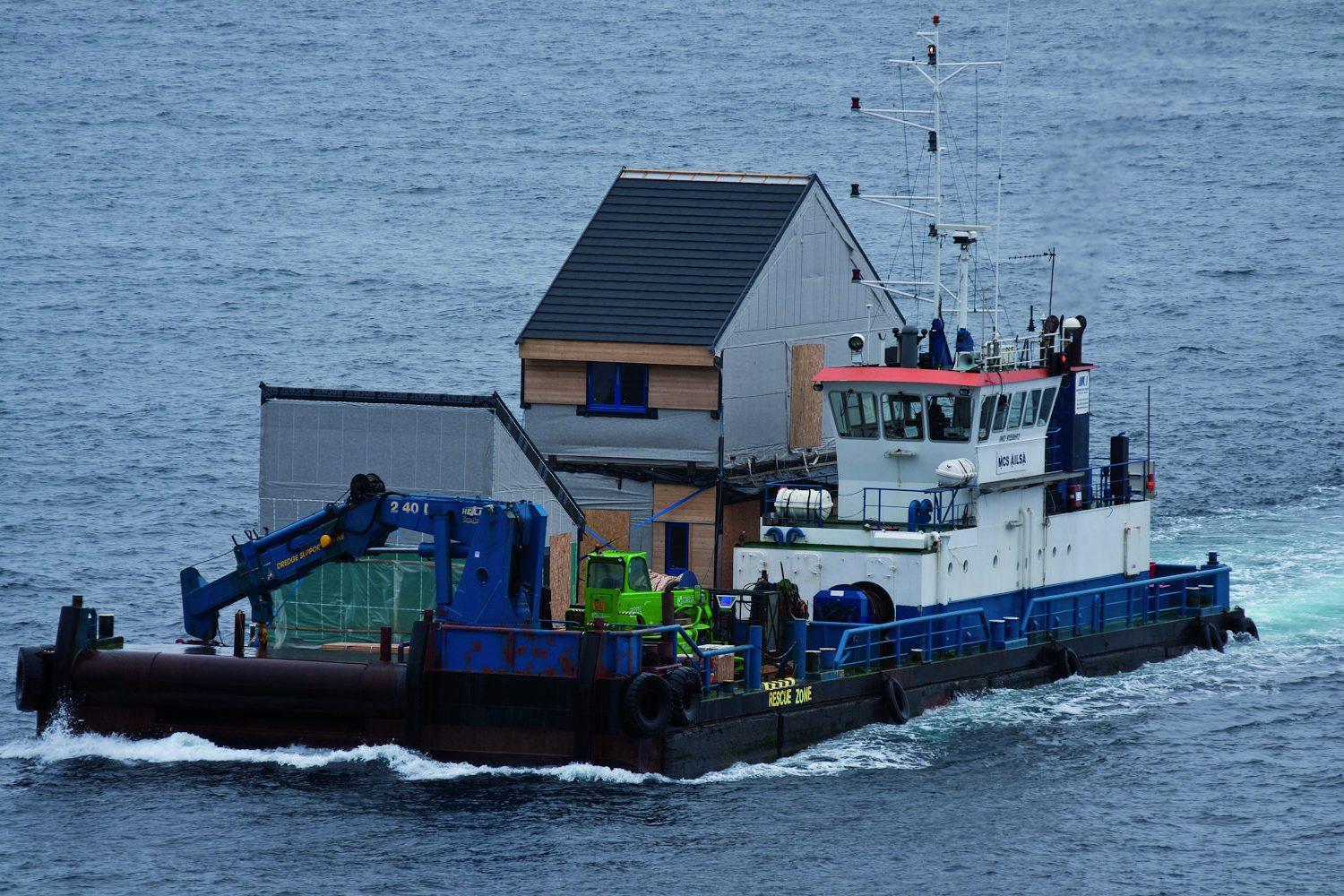 MCS Ailsa delivers more pods & equipment
