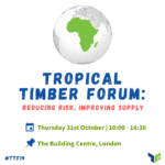 Tropical Timber Forum - Agenda