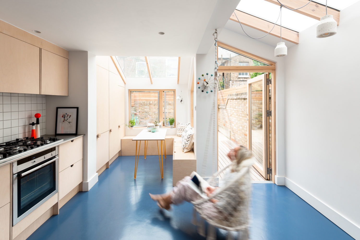 Paper House Project- Oliphant Street- timberworks
