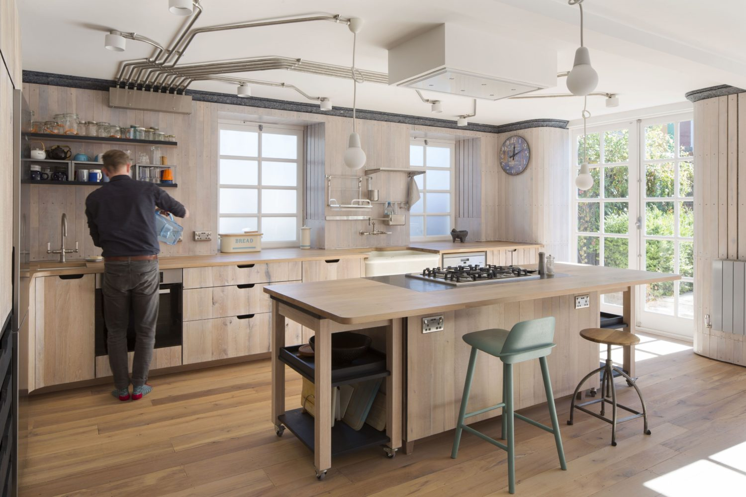 arboreal architecture-reuse flat-timberworks-Kitchen