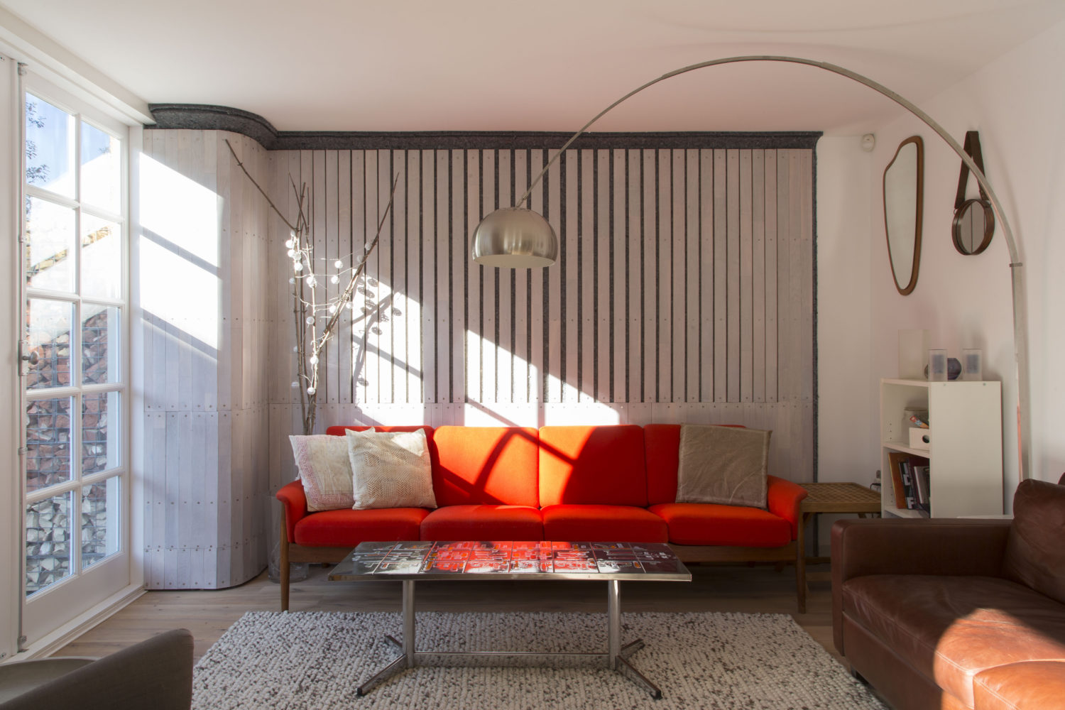 arboreal architecture-reuse flat-timberworks-Living room