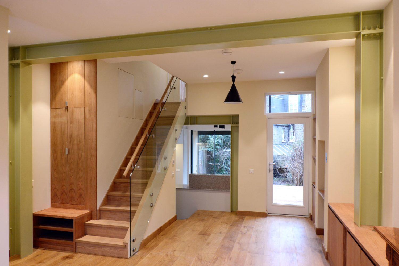 bucharest house- arboreal architecter-glulam-timberworks living room