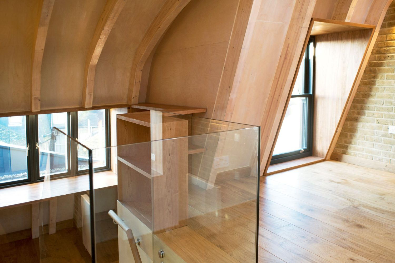 bucharest house- arboreal architecter-glulam-timberworks-office