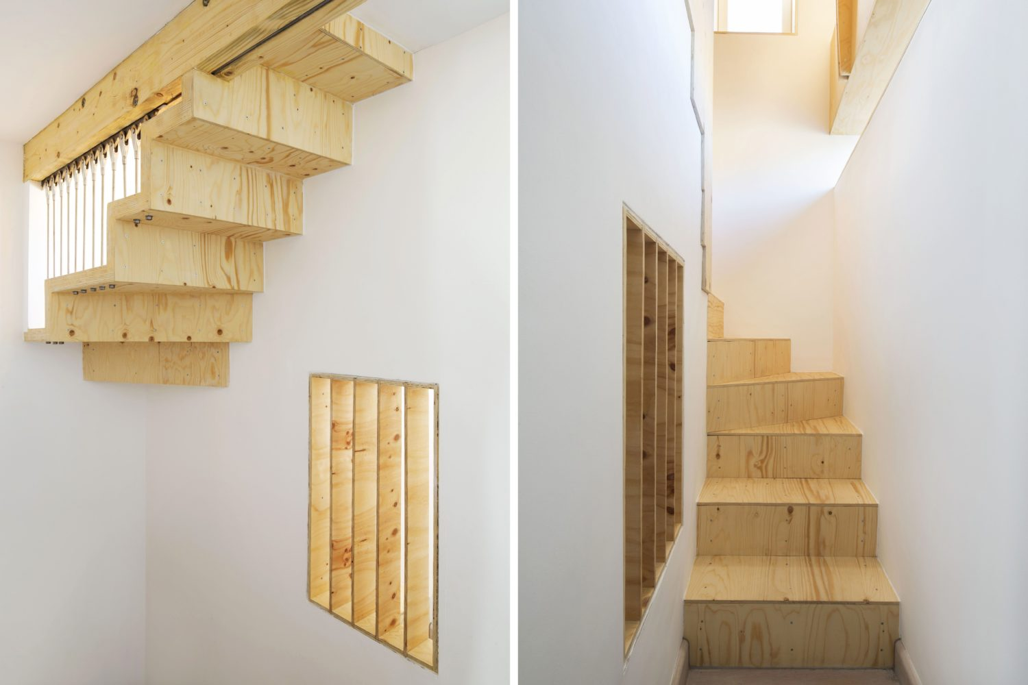 loft library-arboreal architects-stairs