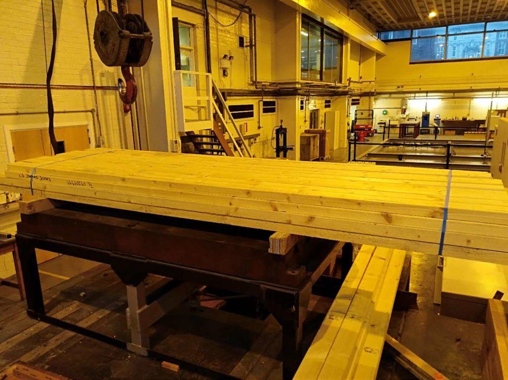 Timber Engineering - Breaking Beams