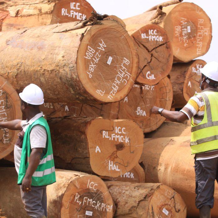 EU FLEGT REDD Flickr - ICC timber processing facility Ghana FEB 2019