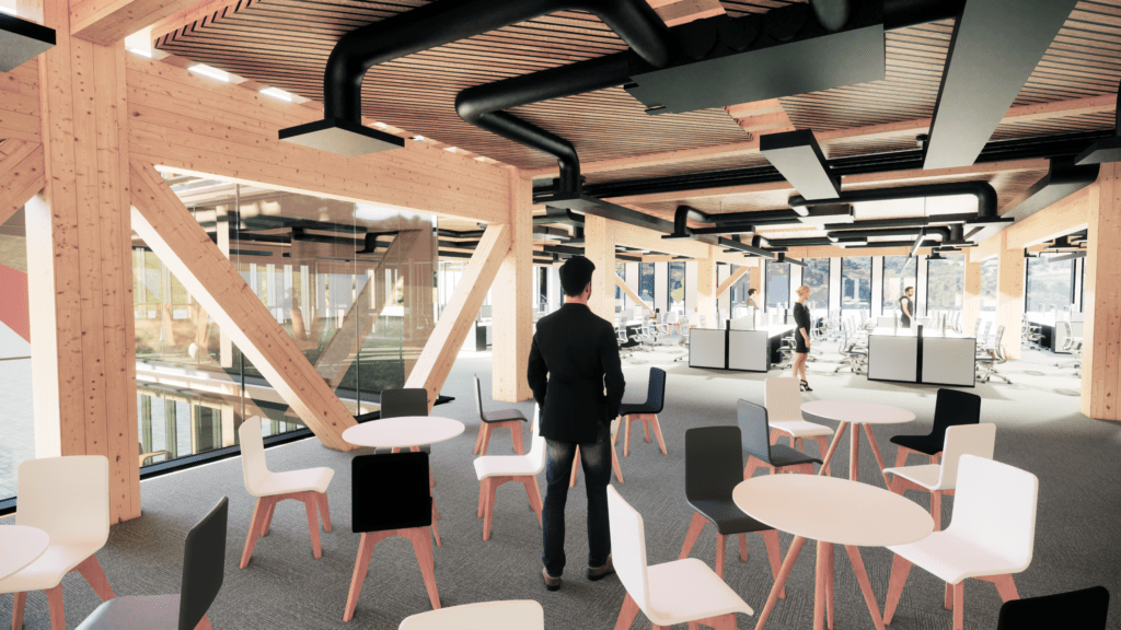 Timber offices of the future