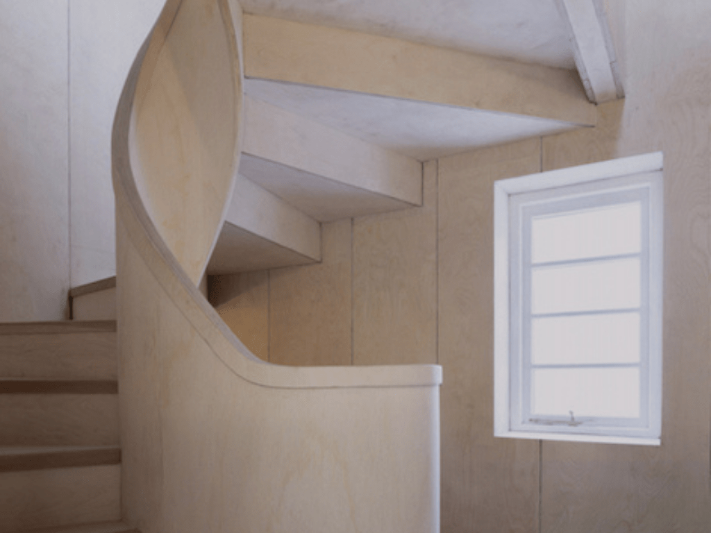Old House, spiral staircase (1)