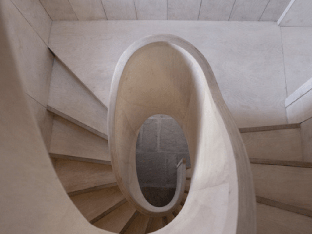 Old House, spiral staircase 3
