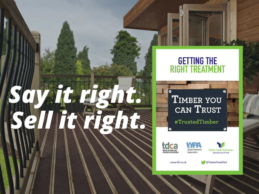Join the Positive Promotion of Timber Treatments