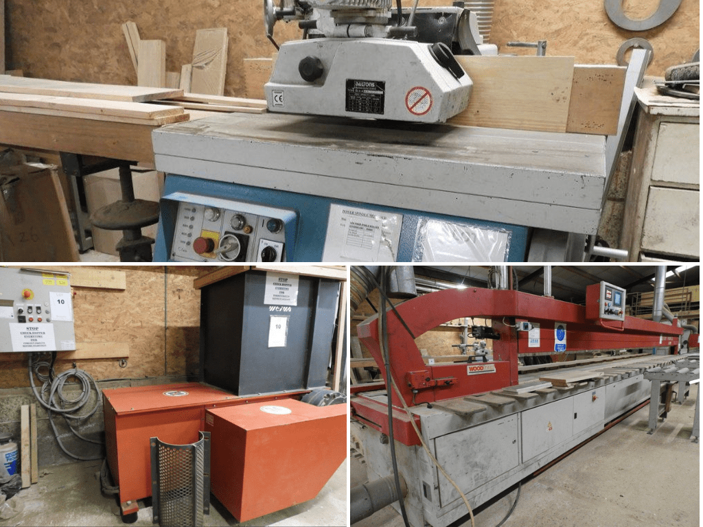 Major Online Auction of South East Sawmill Contents