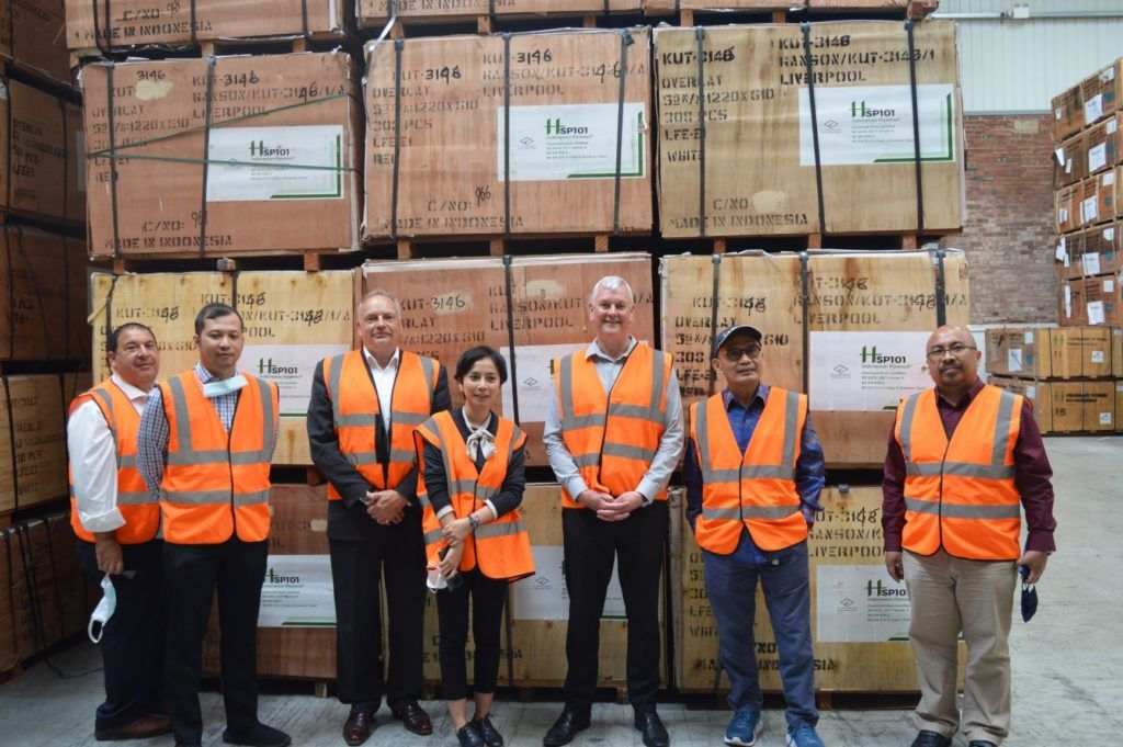Indonesian Ambassador visits UK timber companies