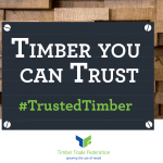 Boosting 'Timber you can Trust' message